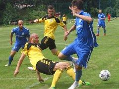Fotbalisté Karviné porazili Vítkovice.