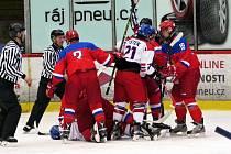 Česko  - Rusko U16.