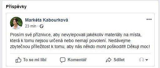 FB Markéty Kabourkové.