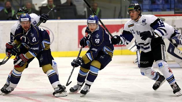Havířovští hokejisté se proti Kladnu dlouho drželi ve hře o body, nakonec ale prohráli.
