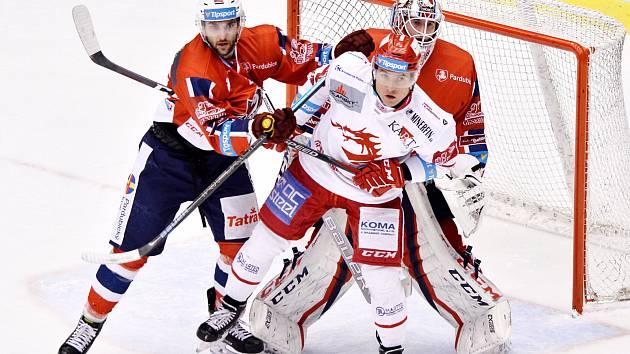 Jiří Polanský (v bílém) se těší na play off.