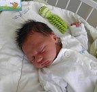 Dominik Trnka se narodil 11. května paní Kláře Bilinské z Karviné. Po porodu chlapeček vážil 3550 g a měřil 51 cm. Sestřička Karolínka se na miminko moc těší.