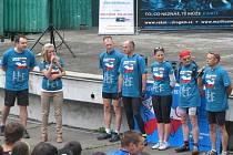 Cyklo-běh, který se koná v rámci Dne proti drogám, zamířil i do Orlové.