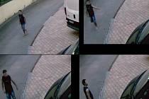 Snímky z kamery