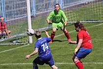 Fotbalistky Havířova zvládly i utkání s Veřovicemi.