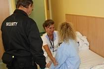 V havířovské nemocnici slouží ochranka.
