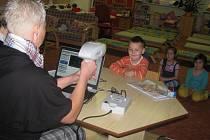 Vyšetření zraku u dětí.