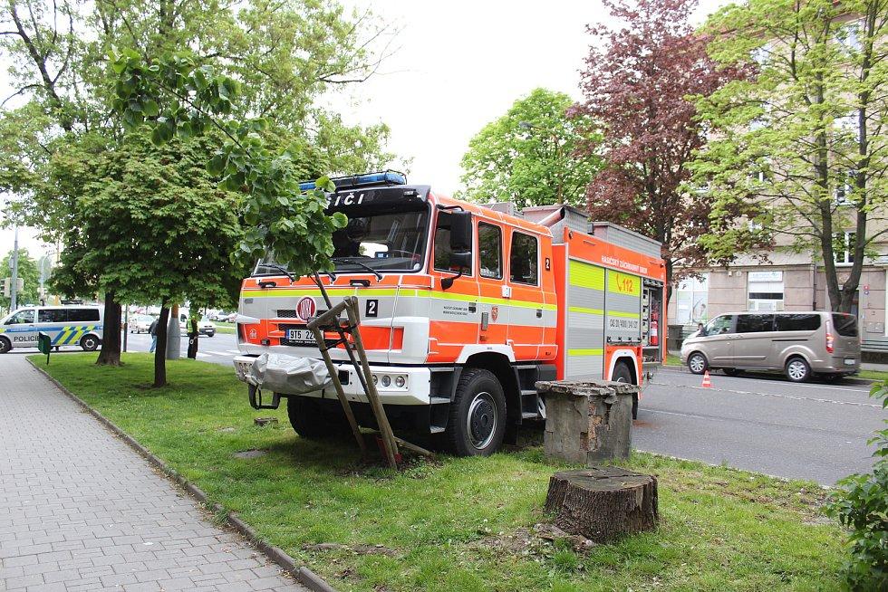 Nehoda v centru Havířova se naštěstí obešla bez zranění.