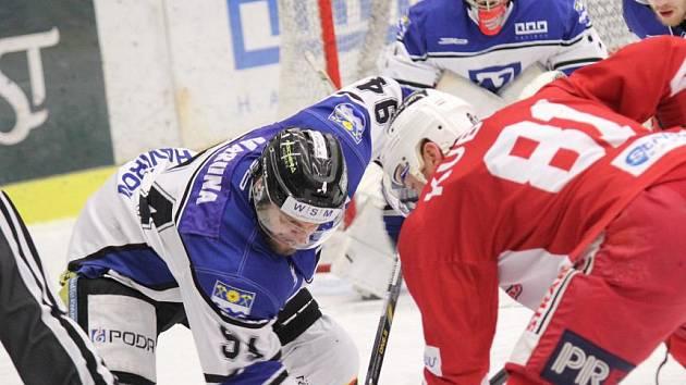 Hokejisté Havířova se dočkali tříbodového zisku.