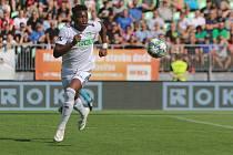 Nizozemský fotbalista Gigli Ndefe dal v Příbrami svůj premiérový gól v české lize.