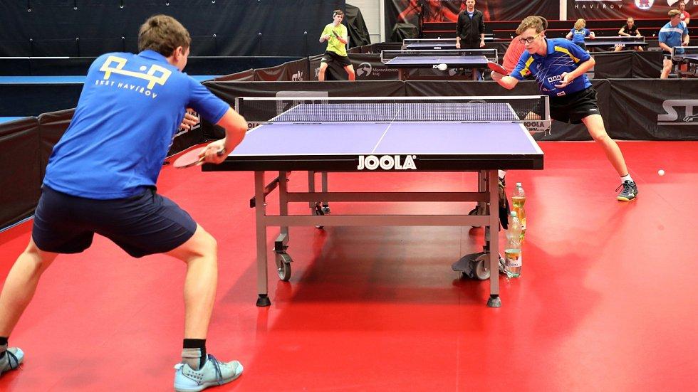 V Havířově otevřeli Národní tréninkové centrum pro stolní tenis.