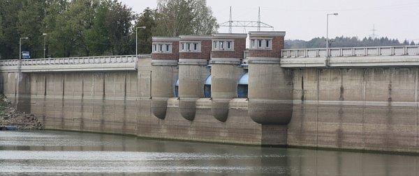 Žermanická přehrada.