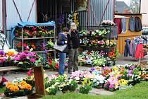 Před Dušičkami zavítají na trh do Chalupek stovky nakupujících.