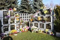 Nová kolumbária na karvinských hřbitovech nabízejí desítky volných míst pro urnové schránky.