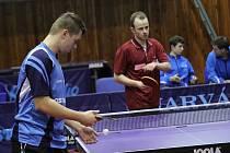 Stolní tenisté Baníku v derby s Ostravou tentokrát neuspěli.