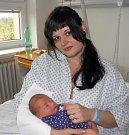 Mamince Ireně Pietrové z Karviné se 25. dubna narodil syn Jan Rudolf Pieter. Po narození miminko vážilo 3280 g a měřilo 49 cm.