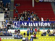 Z utkání Havířova (v černém) proti Benátkám.