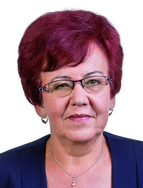 Kandidátka do Senátu pro druhé kolo. obv. č. 74Karviná Milada Halíková