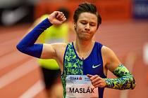 Pavel Maslák vyhrál halový atletický mítink Czech Indoor Gala v Ostravě.