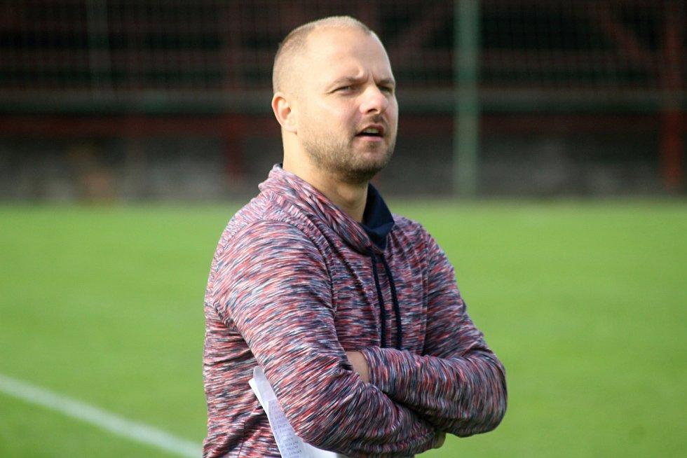 Trenér Bohumína Martin Špička.