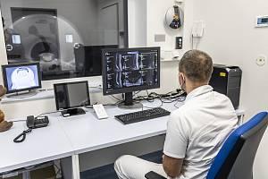 Havířovská nemocnice, nová magnetická rezonance, prosinec 2020.