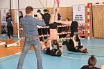 Republikové mistrovství školáků v silovém čtyřboji v Karviné.