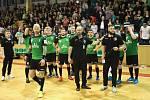 Házenkáři Baníku sedmičkový infarkťák nezvládli a v neděli si zahrají s Plzní rozhodující pátý zápas.