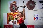 Nikola Kičmerová z Havířova sice na stupně vítězů nedosáhla, ale i tak diváky zaujala, zvláště mužskou část publika.