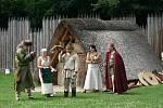 Den příchodu Cyrila a Metoděje oslavil Archeopark v Chotěbuzi akcí pro celé rodiny.