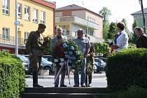 Dolní Lutyně si připomněla výročí osvobození obce.
