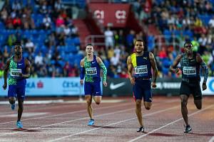 Pavel Maslák doběhl na Zlaté tretře čtvrtý.