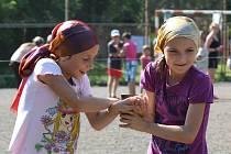 Letní tábor pro děti z ukrajinského Mukačeva.