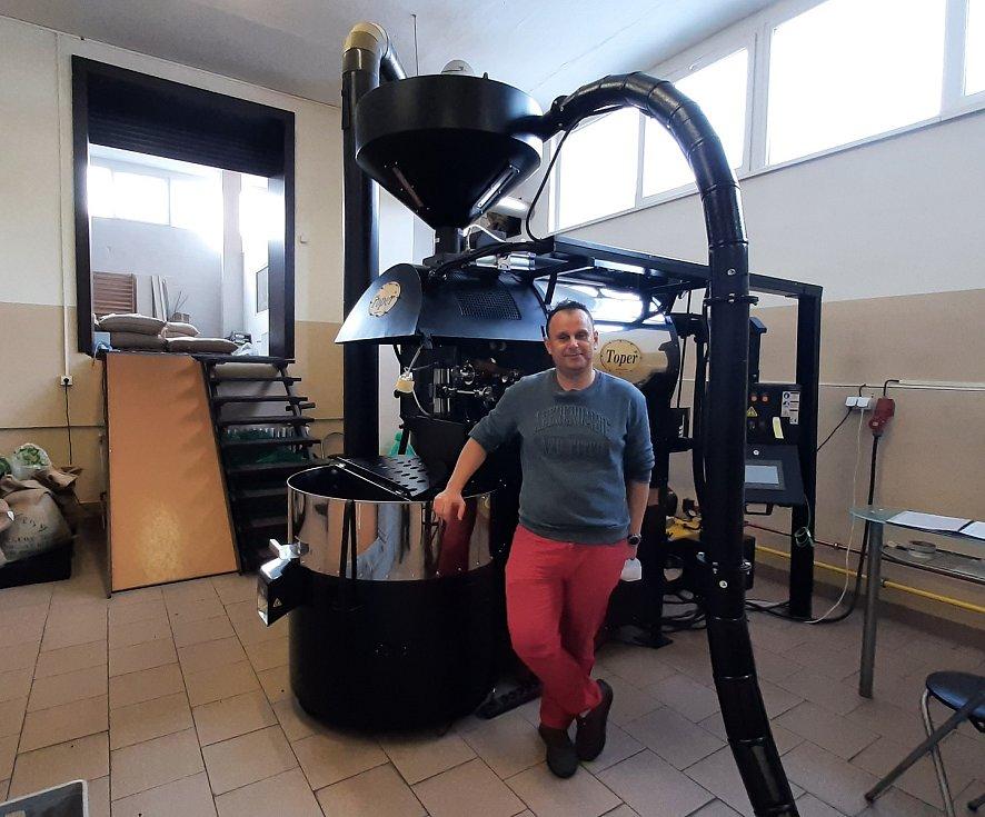 Michal Štusek, majitel pražírny Cafe Eternity.