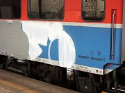 Sprejeři v Havířově pomalovali Elefant.