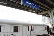Speciální vlak s protidrogovou interaktivní expozicí zastavil v Havířově.