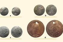 Bohumínský poklad. Soubor mincí ze 17. až 19. století.