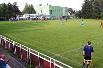 Fotbalový areál v Horním Žukově.
