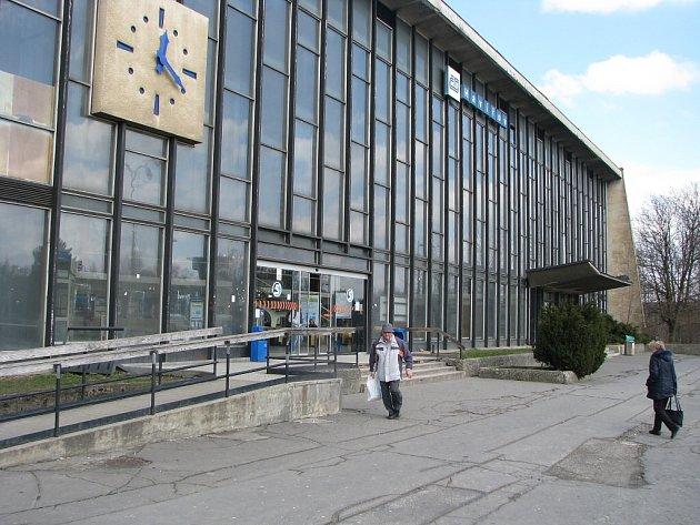 Vlakové nádraží v Havířově.