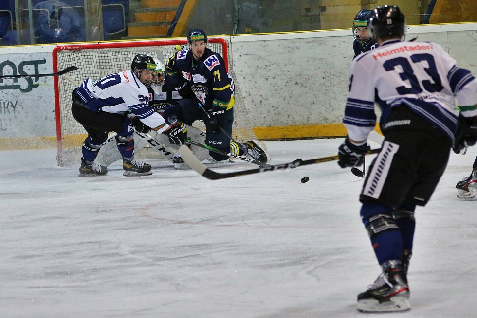 Boj o předkolo playoff HC Slovan Ústí vs. HC Heimstaden Havířov