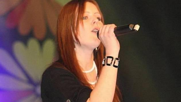 Veronika Vrublová na archivním snímku ze soutěže Talent.