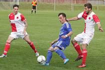 Orlovští fotbalisté předvádí na jaře spolehlivé výkony. Nepovedl se jim jen jeden zápas.