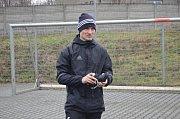 Pavel Dreksa se připravuje s týmem. Zatím.