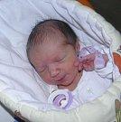 Simonka se narodila 23. srpna paní Anetě Klopcové z Karviné. Po porodu malá Simonka vážila 3130 g a měřila 49 cm.