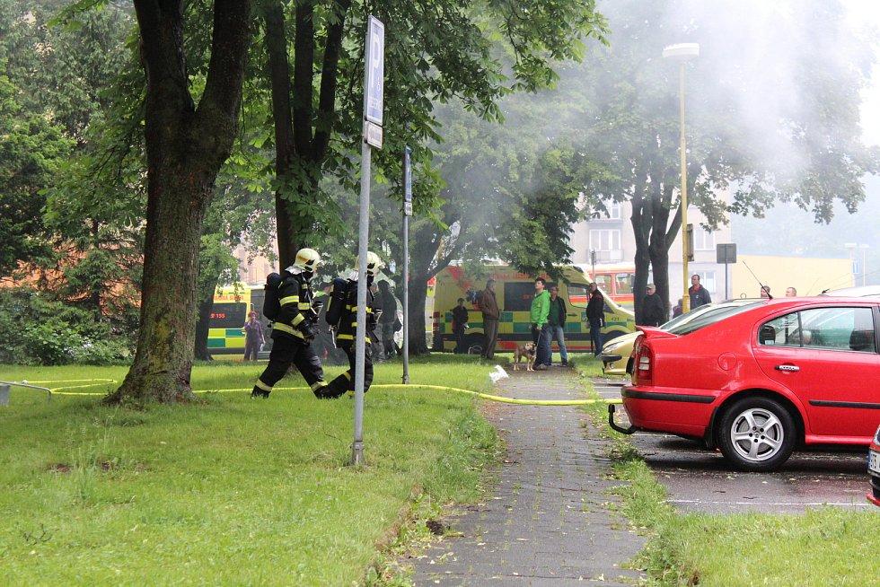 Muž v Havířově podpálil byt.