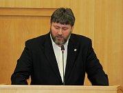 Na jednání krajských zastupitelů hovořil i současný starosta Orlové Miroslav Chlubna.