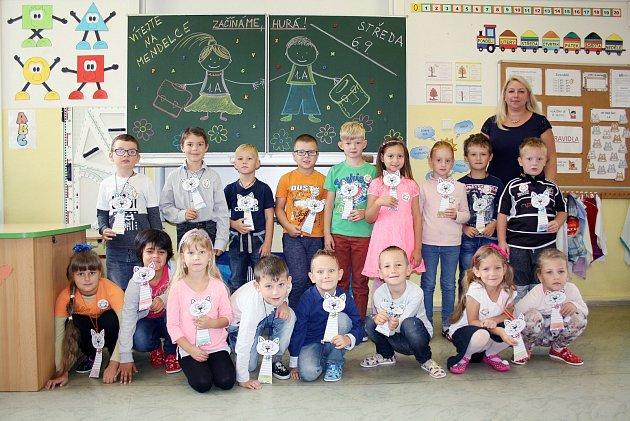 Žáci 1.B ZŠ a MŠ Mendelova, Karviná-Hranice.
