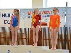 Natálie Lovětinská (uprostřed) uspěla na mistrovství republiky a má titul!