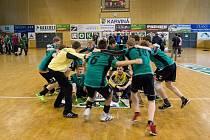 Finálový turnaj republikových přeborů staršího žactva v házené ovládli karvinští chlapci.