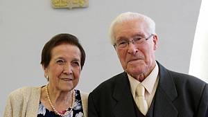 Manželé Dzieržawovi oslavili 70. výročí svatby