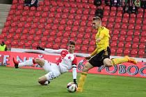 Karviná loni proti Slavii neuspěla ani v lize, ani v poháru.